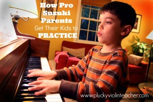 How do parents get their kids to practice for their music lessons? Find out from pro parents in the trenches!