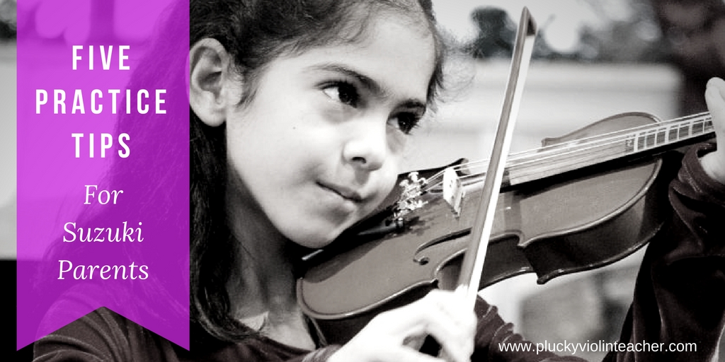 Child Playing Violin Suzuki Teacher Training Course